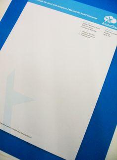 Letterheads for AstarCloud. #PrintNottingham #GraphicDesignNottingham