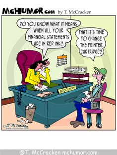 Accountant Joke Accounting Cartoons | Accounting Cartoons by T- McCracken