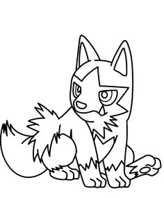 i have download pokemon poochyena coloring pages