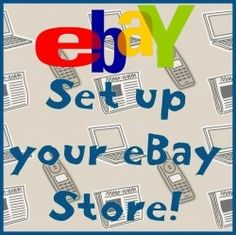Setting up an eBay Store is very easy, and can be profitable and successful for you in a short amount of time. Ebay makes it easy for you to start...