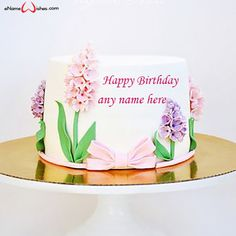 Write name on Birthday Cake Image with Name Edit Online with Name And Wishes Images and create free Online And Wishes Images with name online.