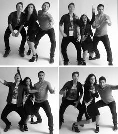 Orphan black ❤ SDCC -- it totally feels like the other clones should be in the pictures too.