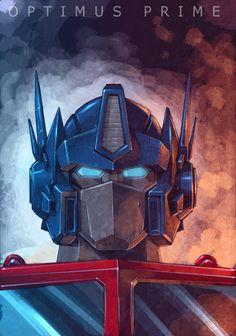Optimus Prime. Transformers. Fan Art.