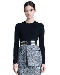 Michael Kors Leather Mirror Belt     $595.00