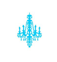 Chandelier 5.5 x 5.5 Cookie Stencil by StencilsByKim on Etsy