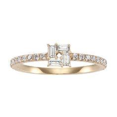 モザイクスクエアー リング AHKAH mariage(アーカー公式ブライダルサイト)