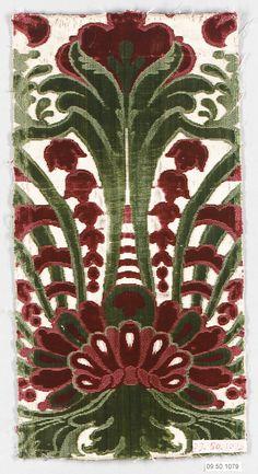 Piece, Italian, 17th century, silk