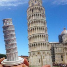 3ders.org - Creative tourist makes 3D printed models of every landmark he visits   3D Printer News & 3D Printing News