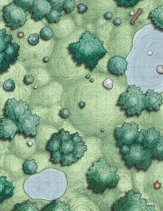 Forest Battle Map Assets | Venatus Maps on Patreon