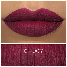 MAC Retro Matte Liquid Lipcolour in Oh Lady - Review and Swatches