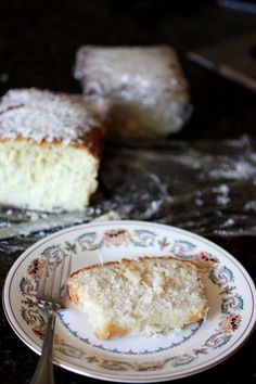 Coconut cake (two recipes, one using fresh coconut -- looks yummy and so bad for you!)