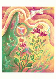 Empowering Women, Honoring the Sacred Feminine The Nectar of Pure Delight - http://www.newmoonvisions.com/