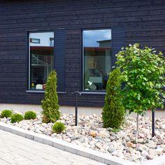 Nordic garden design, modern garden