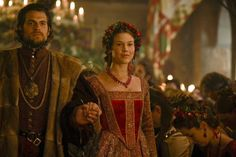 Joss Stone as Anne of Cleves, 4th Wife of Henry VIII, in THE TUDORS (with Henry Cavill as Charles Brandon, Duke of Suffolk)