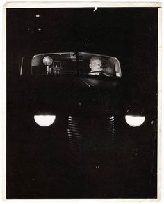 On the Prowl with Weegee  Unidentified Photographer ca. 1943 #ICPhotog by icp