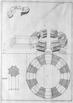 Jean François Niceron: Optical Distortions Understanding perspective in the Century. Geometric Drawing, Geometric Shapes, Geometric Construction, Teaching Drawing, Renaissance Era, Perspective Drawing, Amazing Drawings, Technical Drawing, Sacred Geometry