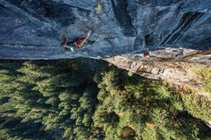 On a perfect fall day last week @jabegg and @mattvanbiene were kind enough to invite me along to photograph their climb of the amazing Good Girls Like Bad Boys (5 pitch 5.12) at Index. I'm super excited to share some of the photos from this beautiful day high up in granite country. by scottrinck