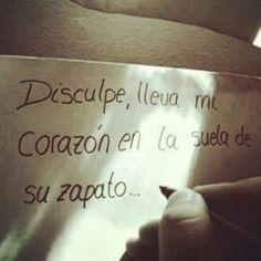 Disculpe #frases #español #amor