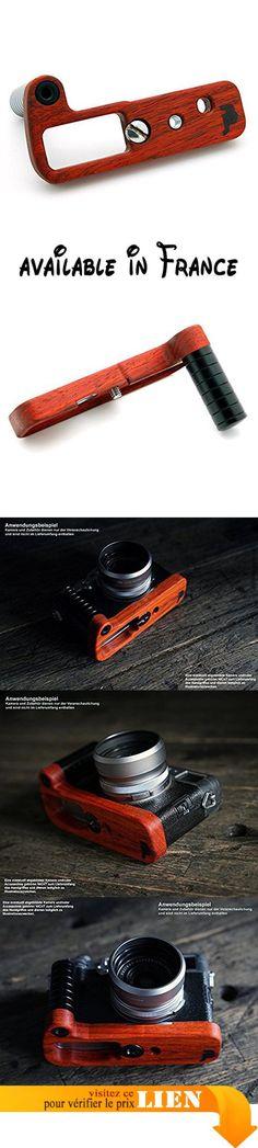 B077P8NFD3 : Jianying Poignée pour appareil photo Panasonic Lumix LX100| Camera J.B. Poignée Grip en bois PADAUK en rigide inoxydable africain et aluminium anodisé | Appareil photo de Camera Designs USA | couleur: Orange Rouge Jusqu'à Marron Rouge (bois) noir mat (Aluminium). Camera Grip de J.B. Camera designs fabriqué en Oklahoma États-Unis authentiques avec plaque de fond poignée de marque-massive photo de J.B. 'Hot Iron en Padouk africain en bois dur