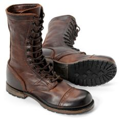 Vintage Molly Jump Boot - Chocolate