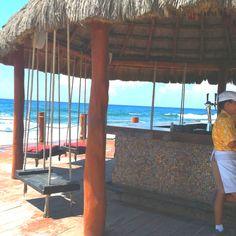 Mexico-such a cool beach bar!