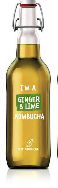 I'm a ginger and lime organic Kombucha Kombucha Culture, Carbonated Soft Drinks, Organic Kombucha, Amino Acids, Our Body, Spray Bottle, Blueberry, Beverages, Easy Meals