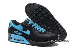 best service 4ce6e 5a443 Nike Air Max 90 Mens Black Blue Training Shoes TopDeals, Price   78.33 - Adidas  Shoes,Adidas Nmd,Superstar,Originals