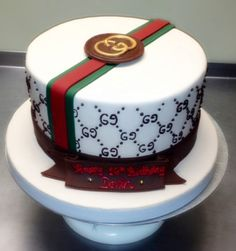 Gucci Sweet 16 Birthday Cake... http://WonderfulWeddingCakes.com Best in Long Island....