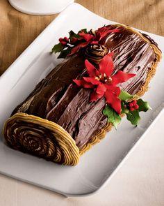 Buche de Noel Cake at Neiman Marcus.