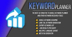 Google SEO Keyword Planner . Google has features such as High Resolution: Yes, Compatible OS Versions: Windows XP, Windows Vista, Windows 7, Windows 8 Desktop, Windows 8 Metro, Windows 10, Application Runtime: .NET 4