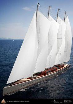 "Dream Symphony: World's Largest ""Green"" Sailing Yacht"