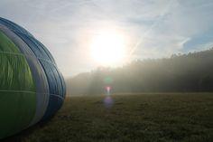 Baloon flying