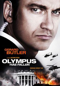 Gerard Butler Olympus Has Fallen Poster