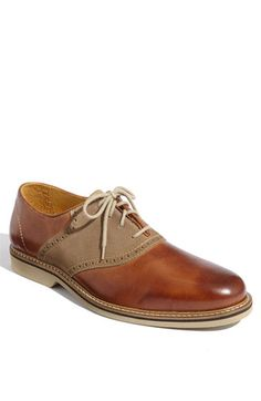 1901 'Bennett' Saddle Shoe (Men) available at #Nordstrom