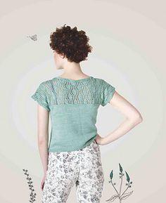 Ravelry: Waterlily pattern by Meghan Fernandes Summer Knitting, Knitting Yarn, Free Knitting, Knitting Patterns, Crochet Patterns, Water Lilies, Knitting Projects, Knit Crochet, Number 8