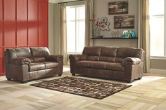 Coffee Bladen Sofa and Loveseat- not exactly my style choice but 2 couches for a low price