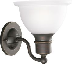 Madison Collection Antique Bronze 1-light Wall Bracket