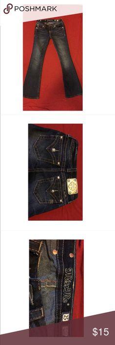 Miss me jeans Miss me bootcut jeans dark wash Miss Me Jeans Boot Cut