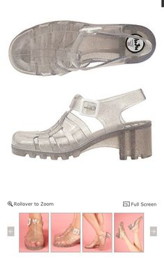Juju Beans Jelly Sandals at American Apparel