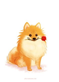 Marvelous Pomeranian Does Your Dog Measure Up and Does It Matter Characteristics. All About Pomeranian Does Your Dog Measure Up and Does It Matter Characteristics. Pet Anime, Cute Pomeranian, Wall Art Prints, Fine Art Prints, Save A Dog, Happy Dogs, Dog Art, Dog Life, I Love Dogs