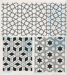 GPB 042 : Geometric Patterns & Borders, David Wade