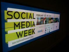 Social media week!