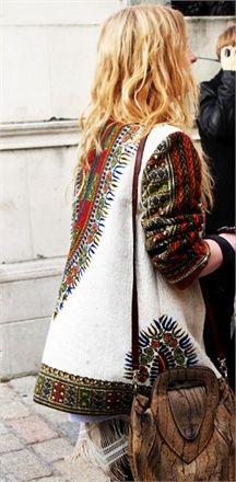 Bohemian fashion and style. Boho.
