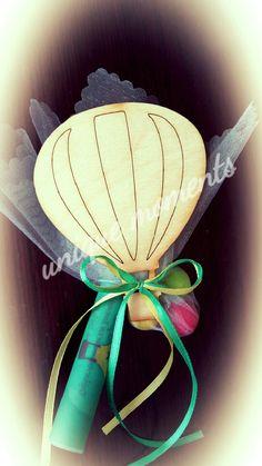 Αερόστατο μπομπονιερα  προσκληση