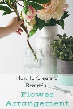 If you have ever wanted to create your own flower arrangements at home, here are some tips & tricks from a expert florist!