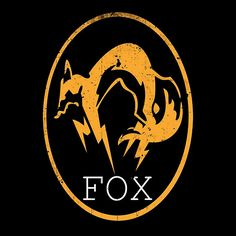Metal Gear Solid - FOX Logo by Shoro