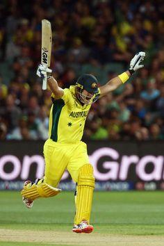 Shane Watson battled through to take Australia through to the semis.