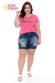 Big And Beautiful, Beautiful Women, Plus Size Casual, Ideias Fashion, Latest Trends, Summer Outfits, Women's Fashion, Sexy, Shirts