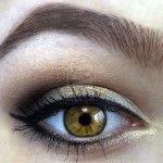 makeup for hazel green/brown eyes