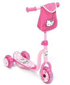 D'Arpèje – OHKY05 – Hello Kitty – Trottinette pour Enfants – Trottinette 3 roues Hello Kitty | Your #1 Source for Toys and Games